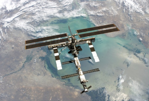 The ISS in August 2005