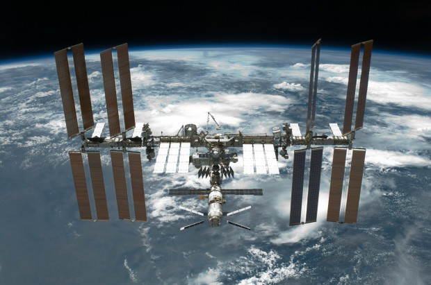 The 'complete' ISS in 2011