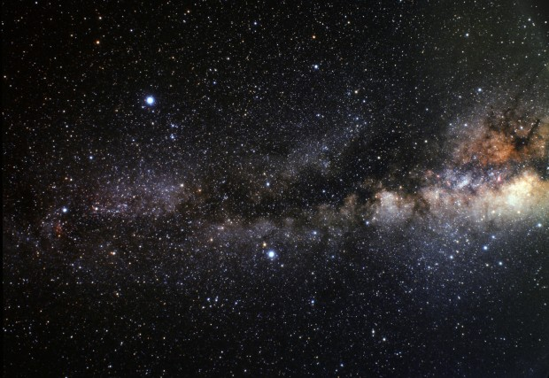 The Milky Way (Credit: A. Fujii / NASA)